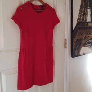 MNG Mango Casual red dress